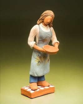 Work ceramic artist