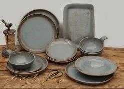 Linen collection grey