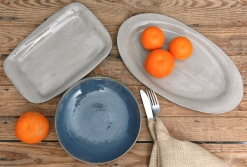 linen-collection-ivory-square-oval-platter-blue-black-salad-plate