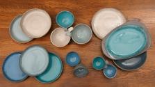 Color Samples and Forms (Black Porcelain)