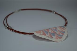 Nerikomi Seashell Pendant