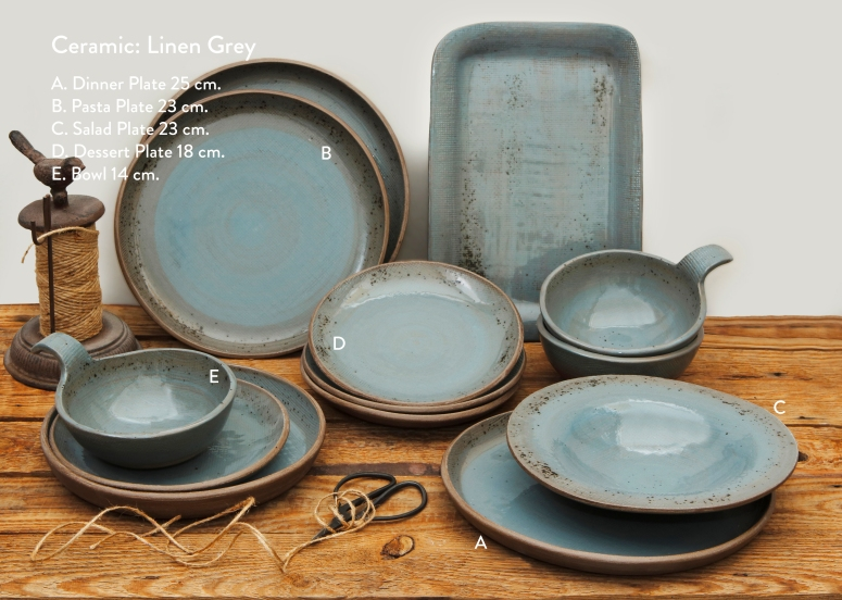 Ceramic Linen Grey