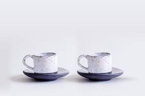 Porcelain-Espresso Cup Set