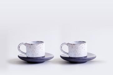 Espresso Cups (Black Porcelain)