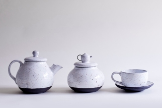 Porcelain-Teapot-Container-Tea Cup