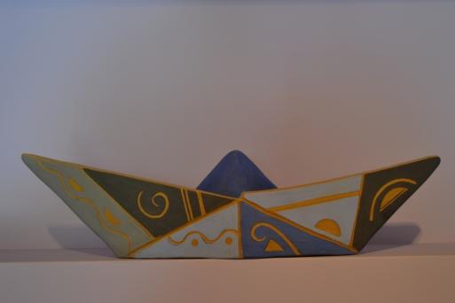Boho style boat