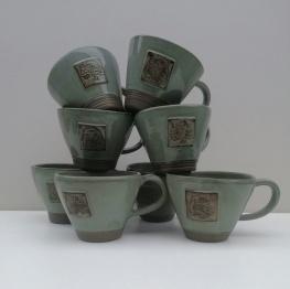 Green Cups 6oz