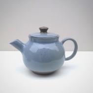 Blue Ceramic Tea Pot