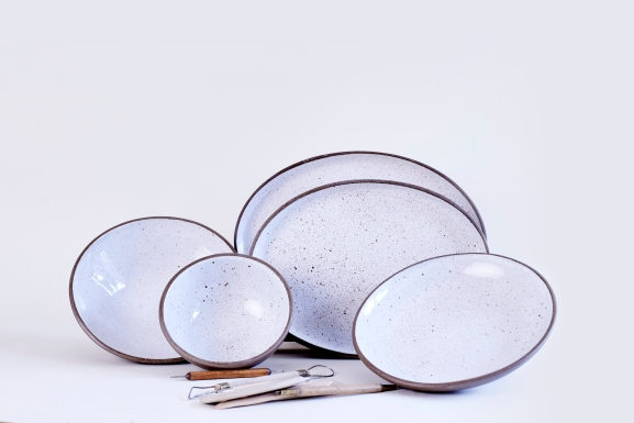 Goose Egg Ceramic Collection