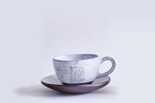 Goose Egg Ceramic Tea Cup