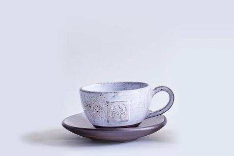 Ceramic Goose Egg-Tea Cup