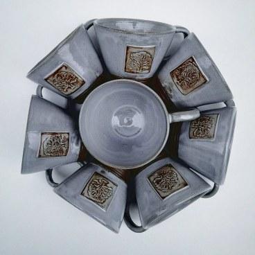 Grey 6oz Cups
