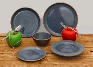 Blue Linen Collection