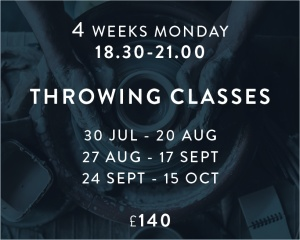 Throwing Classes Jul - Oct