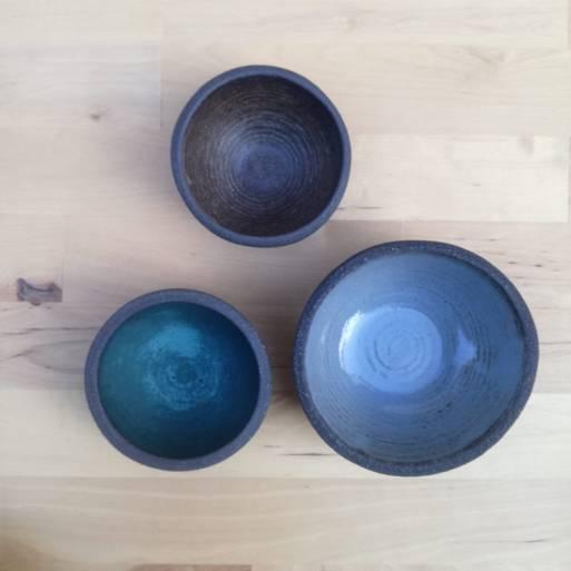 Natural Collection Colors Ranekins and Bowl