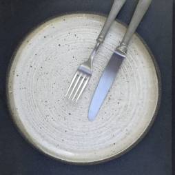 Natural Collection White Side Plate