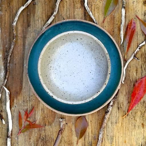 White Speckled Bowl