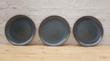 Blue Speckled Dinner Plates