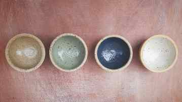 Ramekins made with White Clay