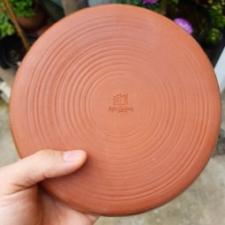 Red Clay with our Stamp
