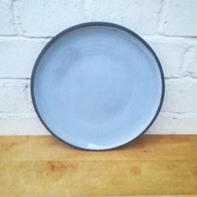 Sky Blue Dinner Plate